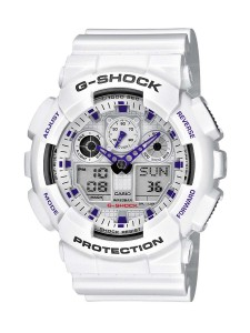1. CASIO G-Shock GA-100A-7AER