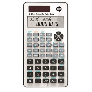 HP 10s + scientific calculator